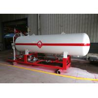 5CBM LPG Gas Storage Tank Refueling Station Mini 2t 2.5t 1.77MPa Design Pressure Manufactures