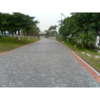 Patio / Garden Natural Paving Stones Natural Black Basalt / Slate Material Manufactures