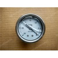 China 304 Stainless Steel Liquid Filled Vacuum Pressure Gauge with Back Entry 2 ( 50mm ) on sale