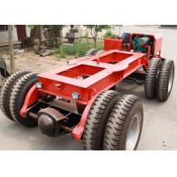 Multi Axle Hydraulic Flatbed Trailer 5 - 200 Ton For Bridge Transport Manufactures