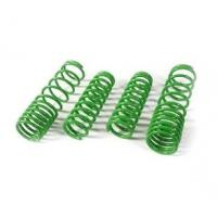 Green Alloy Steel Car Suspension Springs , Auto Suspension Coil Springs Manufactures
