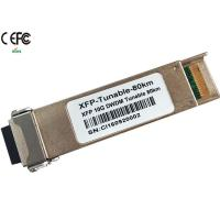 Buy cheap Cisco 80km 10G DWDM tunable XFP Optical Transceiver 50GHz duplex LC from wholesalers