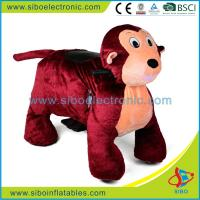 China Coin Operated Machine Plush Animal Ride On Toy Zippy Ride On Animal on sale