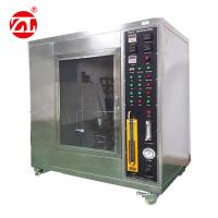 UL94 Horizontal Vertical Flame Test Chamber , EN 60695-2-11  Flammability Tester Manufactures