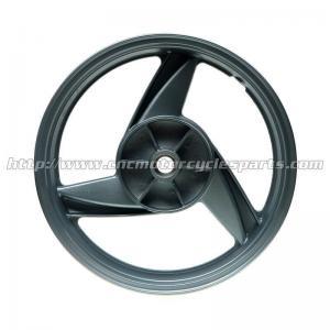 Black Custom Motorcycle Wheels For Kawasaki ER5 All Years 3.5 X 17 Manufactures
