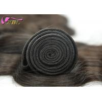 Quality 22 Inches Long Length Natural And Soft  Virgin Brazilian Body Wave Hair Weft for sale