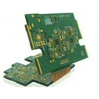 1OZ Rigid Flex PCB Prototype Service Green Solder Mask FR4 Polyimide Thickness 1.6mm Manufactures