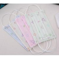 Comfortable 3 Layers Filter Disposable Kids Mask Non Woven Melt Blown Fliter Cloth Manufactures