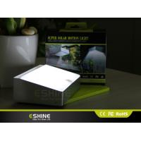 Pure White Automatic Solar Panel Light ROHS Detector solar Parking Lighting Manufactures