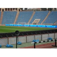 Quality P10mm SMD3535 Cost Effective Stadium Perimeter LED Display Advertising LED Logo for sale