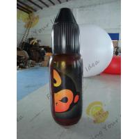 Black Giant Inflatable Bottle / Nylon Tall Custom Inflatable Products Manufactures
