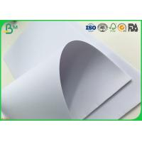 China 100% Virgin Pulp Glossy Coated Paper 53 Gsm / 55gsm For Magazine Instruction Manuals on sale