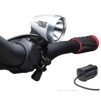 Weatherproof IP54 550Lm HID Bike Light with Japan PSE Rechargeable Lithium-ion Battery Manufactures