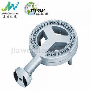 China BBQ Gas Burner Die Cast Custom Aluminum Products High Temperature Teflon Coated on sale