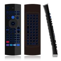 XBMC Android Mini PC Air Fly Mouse , Voice Air Mouse Wireless Mini Keyboard Manufactures