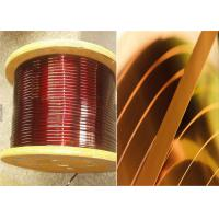 0Enamelled Rectangular Magnet Wire .02 - 1.8mm Square Copper Wire For Smart Phones Manufactures