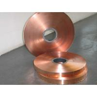 Electrolytic Copper Strip / Tape Non Ferrous Metals Strips Manufactures