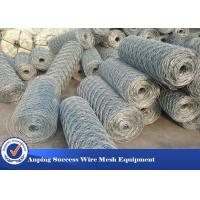 Heavy Duty Economical Gabion Wire Mesh Roll / Gabion Wall Mesh For Guiding Bank Manufactures