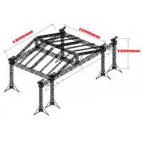 OEM High Loading Stage Roofing Truss Systems With TUV and SGS Manufactures