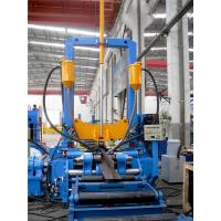 Light Duty H Beam Welding Line Automatic Welding Machine With High Efficiency 3 in 1 Combination Manufactures