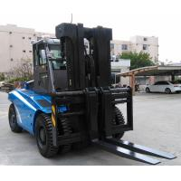 2 Stage / 3 Satge Mast Diesel Forklift Truck 12 Ton 7000mm Max Lift Height Manufactures