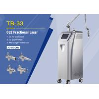 Medical 10600nm Co2 Fractional Laser Machine For Skin Resurfacing / Scars Removal Manufactures