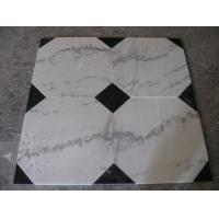 Guangxi White Marble Floor Tiles,Chinese Carrara Marble White Marble Designed Indoor Flooring,White Marble Floor Stone Manufactures