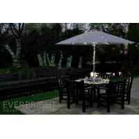 China 17m 100LED outdoor White Solar LED string party lights on sale