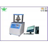 Digital Ring Stiffness Corrugated Paper Tensile Strength Testing Equipment Manufactures