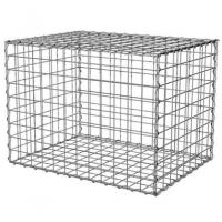 100x100x50cm Welded Gabion Wire Mesh Retaining Wall For Building Square Hole Shape Manufactures