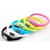 fashion movement  eco-friendly anion silicone digital watch Manufactures