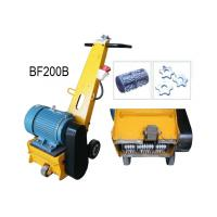 China Hand Push Rust Removal Floor Scarifying Machine With 7.5KW 380V 50HZ Motor on sale