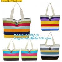 China new style black canvas tote bag custom cotton canvas bag gift shopping bag for promotion,Female bag custom stripe beach on sale