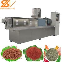 Aquatic Pellet Fish Feed Processing Machine Extruder Line SLG120 / SLG95 Manufactures