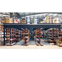 Multi Tier Warehouse Mezzanine Systems , Mezzanine Floor Racking System For Small Goods Manufactures