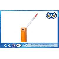 Buy cheap AC Motor vehicle access vontrol barriers For Parking Management System from wholesalers