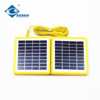 China 4 W 9V portable solar charger for electric bike solar charger ZW-4W-9V foldable solar panel photovoltaic for MP3 on sale