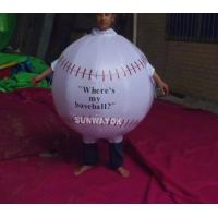 Promotion Lovely Inflatable Ball Advertising Costumes With FR rip stop nylon