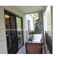China Pleated Sheer Retractable Screens/ Slider Door Retractable Screens on sale