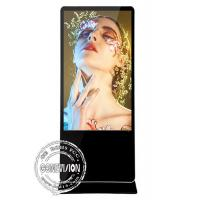 Floor Standing Commercial Android Lcd Digital Advertising Media Player 65 Black Manufactures