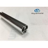 Customized Polishing Bright Aluminium Extrusion Profiles Round For Shower Frame Manufactures