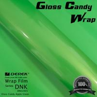 China Gloss Candy Lime Green Vinyl Wrap Film - Gloss Lime Green wholesale