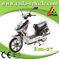 48v 450w 12ah 16inch disc brake sport style mobility scooter  (yada em27) Manufactures
