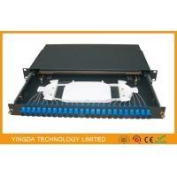 SC FC LC ST ODF Fiber Optic Patch panel 24 Port / network Patch Panel Manufactures