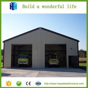 Steel prefabricated storage warehouse outdoor garage for sale Manufactures