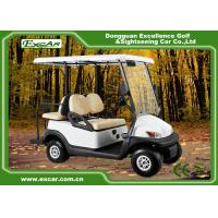 3.7kw Motor 4 seater Electric Golf Carts ISO Approved With Aluminium Framework Manufactures