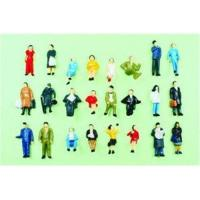 P87-24 1:87 HO Architectural Scale Model People Painted Figures 2.0cm Manufactures