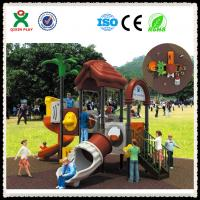 China Kids Outdoor Play Structure Outdoor Playground Toys for Nursery School QX-021A on sale