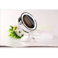 1x 5x Magnifier LED Makeup Mirror Round Double Side Battery Operated Manufactures