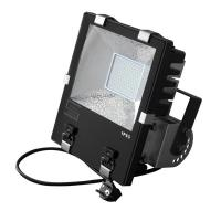 China Gymnasium IP65 Outdoor LED Flood Lights 100W Tempered Glass on sale